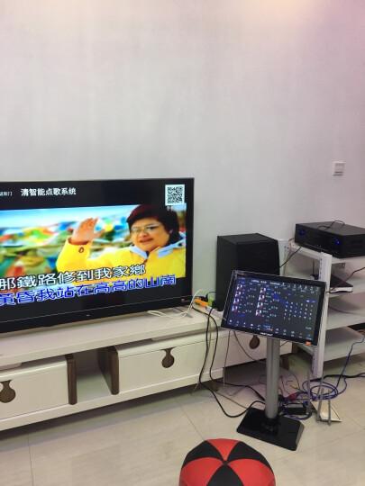 威斯汀(WESTDING) 点歌机家庭影院ktv音响组合功放套装家用卡拉OK双系统一体机10英寸低音 108智能语音双系统(4T版) 晒单图