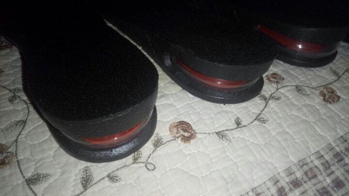 颐妍堂增高鞋垫气垫隐形内增高运动透气全垫男式女士特价3579cm 棕色毛绒保暖2层5厘米 晒单图