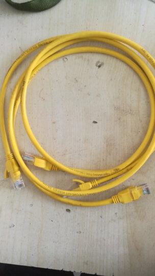 绿联(UGREEN)超五类网线 百兆网络连接线 Cat5e成品线 电脑宽带非屏蔽八芯双绞线 室外防水跳线 1米 11230 晒单图
