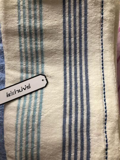三利 雪绒超柔蝴蝶结抹胸式浴巾套装 浴裙+浴帽 素雅-桃红色 晒单图
