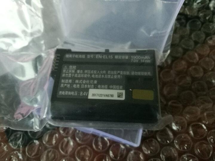 尼康(Nikon) EN-EL15原装电池适用D7100D7200D750D810D850D610 晒单图