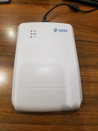 华视CVR-100UC-TS 身份证阅读器 二代证读卡器 身份证识别仪读卡机 晒单图