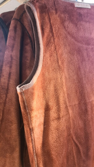 【2件装】 俞兆林保暖背心男加绒加厚紧身打底内衣上衣马甲坎肩秋冬季男士加绒背心 深灰+深灰 170/L 晒单图