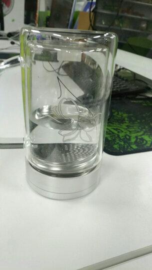 富光双层玻璃办公杯高硼硅耐热大容量牛饮水杯 过滤网茶杯便携带盖大号杯子 700B-520ml(有过滤网 颜色随机) 晒单图