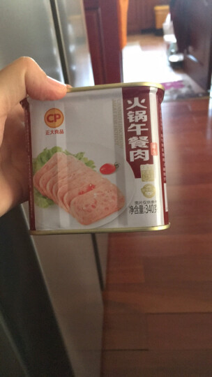 正大食品CP 火锅午餐肉 340g/罐 火锅食材 速食肉罐头 开罐即食 晒单图