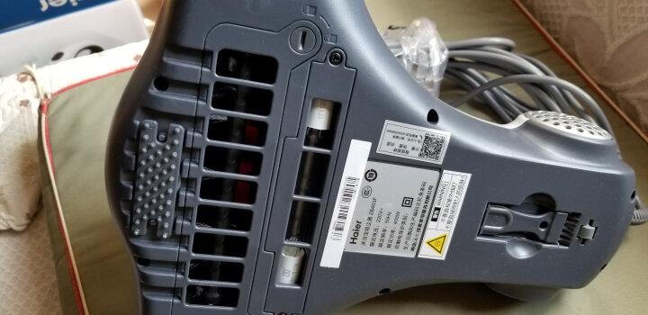 海尔(Haier)吸尘器 ZB403F 家用小型床铺除螨机紫外线除螨仪 晒单图