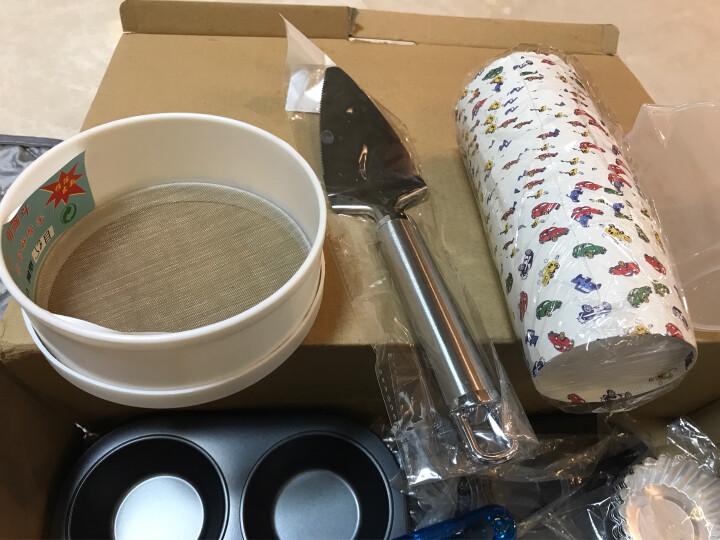 杰凯诺 Jekero DIY必备烘焙工具套装 不粘披萨盘/长方形吐司/6寸、8寸蛋糕/6连杯蛋挞模具烘培套装 晒单图