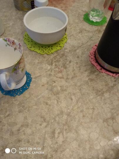 HHFA 多尺寸圆形杯垫碗垫盘子垫锅垫 碟子垫子 餐桌隔热垫套装 大号套装/共6片/每色1片 晒单图