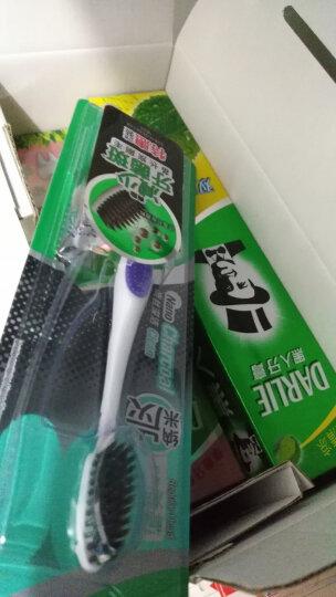 黑人(DARLIE)茶倍健牙膏140g 清新口气防蛀固齿(龙井绿茶) 晒单图