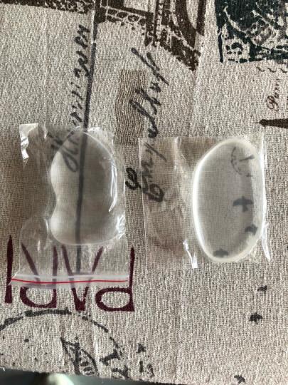 美肤语硅胶气垫粉扑2个装MF5071(叶子+葫芦 透明果冻 通用BB霜粉底 不吃粉 化妆粉扑) 晒单图
