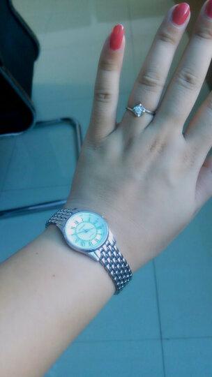 罗西尼(ROSSINI)手表典美时尚系列间金镶钻红色皮带日历石英钟表女表516734G01C 晒单图