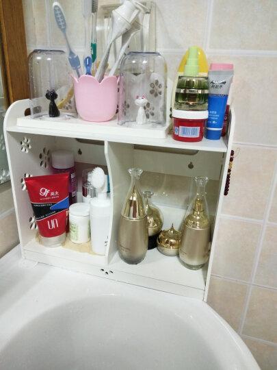 柯纳斯顿(koenaston) 卫生间浴室置物架洗手间厕所收纳架洗漱台DIY化妆品收纳盒 小号化妆架 晒单图