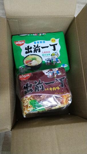 中国香港 出前一丁(NISSIN)方便面五香牛肉味 100g*5包 晒单图