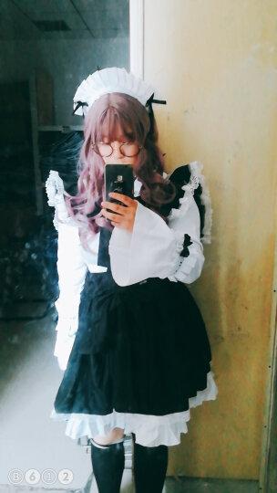 黑白女仆装cosplay成人服装cos洋装女装lolita哥特女佣装连衣裙洛丽塔软妹服装 低于140CM联系在线客服或直接店里搜哥特童装链接 S 晒单图