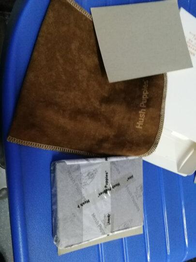美国暇步士(Hush Puppies)男士驾驶证皮夹时尚薄证件夹银行卡包潮流PU皮卡包 啡色 晒单图