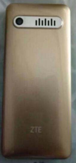守护宝(上海中兴)L550 金色 直板按键 超长待机 移动联通2G 双卡双待老人手机 学生备用老年功能机 晒单图