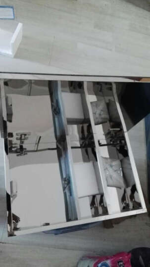zpai/姿派M4656 不锈钢卫生间镜子卫浴镜箱洗手间壁挂储物柜带置物架吊柜浴室镜柜组合 右铰链 晒单图