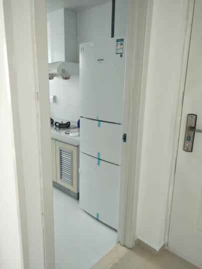 西门子(SIEMENS)232升 三门冰箱 组合冷冻 简约设计(白色)BCD-232(KG23N111EW) 晒单图