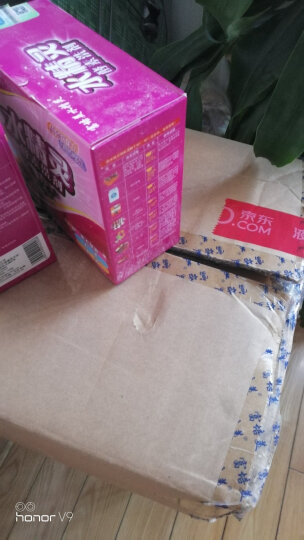 富培美 水精灵酵素有氧活性氧去油去污洗衣粉薰衣草香型500g*10盒送两包静电除尘纸 晒单图