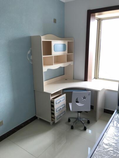 七彩元素 儿童书桌电脑学习桌 转角书桌8303S 直角书桌(不含椅子) 晒单图