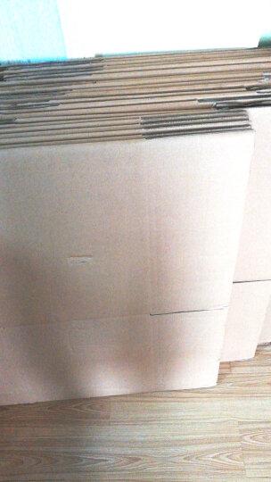 QDZX纸箱50*40*40cm搬家纸箱子加厚快递打包箱整理箱收纳箱储物箱行李箱纸盒包装箱 无扣手1个装 50X40X40 晒单图