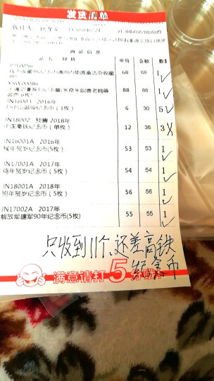 广博藏品 2016年猴年生肖纪念币贺岁流通纪念币10元面值纪念币 5枚套装 带小圆盒 晒单图