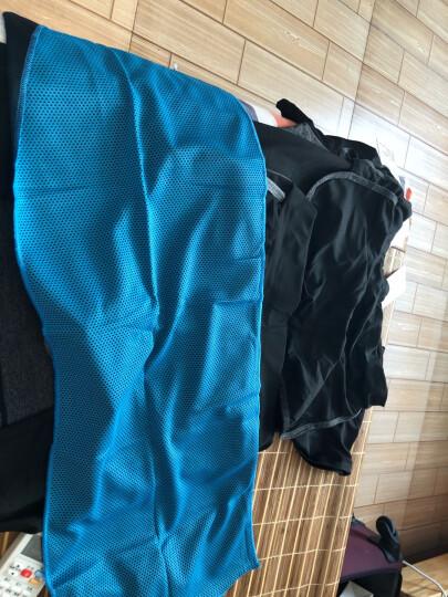 范迪慕 瑜伽服套装健身服运动服女修身显瘦瑜珈速干衣五件套装 W2018-纯黑色-外套五件套 L 晒单图
