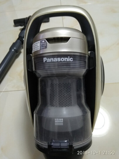 松下(Panasonic)吸尘器MC-8L85CNJ81家用除螨大吸力静音卧式系列(雅金) 晒单图