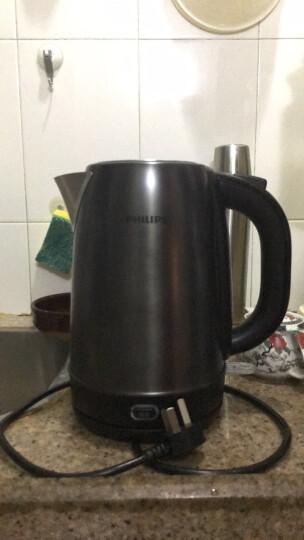 飞利浦(PHILIPS)电热水壶 304不锈钢 PTC保温烧水壶 HD9338/88 1.7L电水壶 晒单图