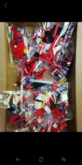 小鲁班公主拼装城堡儿童玩具女孩城市益智组装儿童玩具积木6-14周岁 F1竞赛巡回卡车557粒(0375) 晒单图