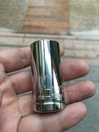 开拓(EXPLOIT) 多功能套筒 魔术套筒 手电钻套筒 傻瓜套筒022970 台湾1/2+风批接杆+棘轮扳手 晒单图