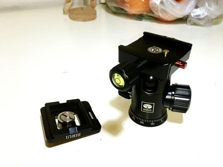 思锐(SIRUI)三脚架 T1005X+G10KX 含云台佳能尼康单反相机三角架铝合金 反折单反相机三脚架 便携旅行 晒单图