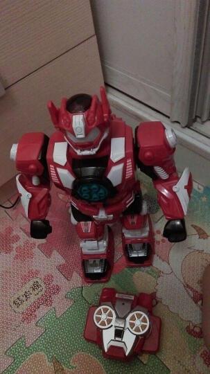 锋源 遥控机器人玩具智能机器人玩具儿童玩具 语音亲子互动对话发射舞蹈对诗猜谜霹雳 霹雳(红) 晒单图
