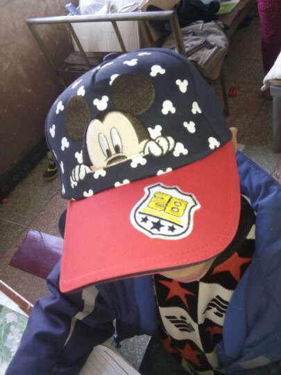 迪士尼(disney)儿童帽子男童春夏宝宝太阳帽小学生遮阳棒球帽鸭舌帽 SM60188大红色 54cm(5-12岁) 晒单图