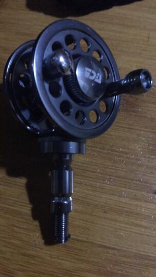 迪佳渔轮 TFB50 中通轮溪流竿台钓竿改装专用轮摇轮 TFB50 晒单图