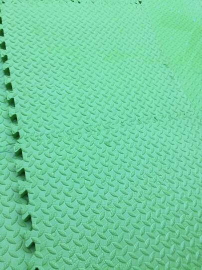 明德 双面大号加厚儿童地垫 防滑爬行垫 pe泡沫地垫拼图地垫爬爬垫60*60*2.5cm 咖啡色4片 60*2.5cm水点纹 晒单图