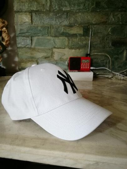 棒球帽子男女士春秋户外休闲情侣款鸭舌帽纯色可调节遮阳帽 藏青M 晒单图