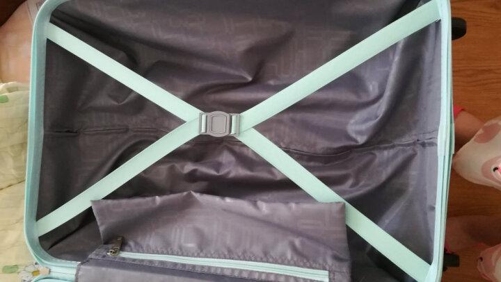 美旅拉杆箱学生行李箱女多彩旅行箱子男密码箱渐变个性万向轮大容量登机箱包手拉箱旅游箱行李箱67Q 磨砂天空蓝 21英寸 晒单图