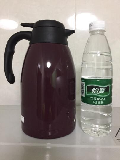 虎牌(TIGER) 保温壶304不锈钢便携按压保温瓶热水瓶PWL-A16C 1.6L 葡萄紫VA 晒单图