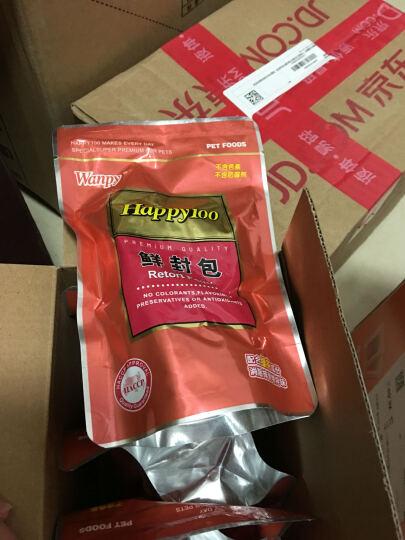顽皮 Happy100犬用清炖鸡肝鲜封包200g*8袋 晒单图