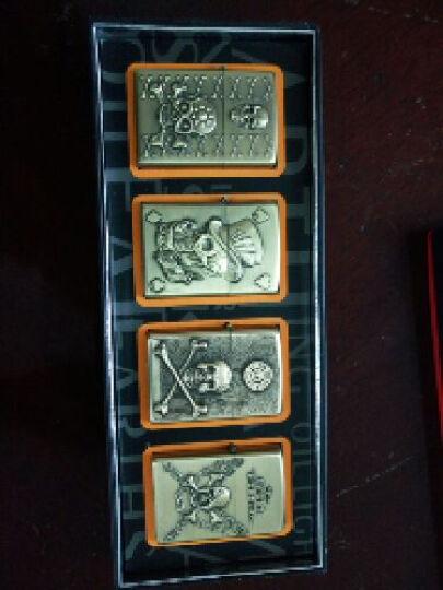 【珍藏】EARTH变形金刚4绝迹重生同步发售 金属雕刻煤油打火机全套4只 康坦斯丁 晒单图