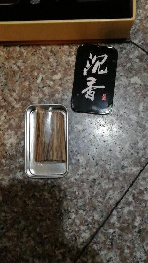 博力神 沉香烟丝 沉香木沉香根香熏烟插沉香 父亲节送长辈礼物沉香片 5A级20克铁盒礼盒送10克装 晒单图