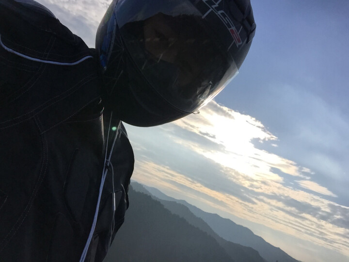 LS2防雾头盔摩托车头盔全盔男女式全覆式四季跑盔赛车跑车盔夏季安全帽FF352冬季 哑黑黄水晶 XL 晒单图