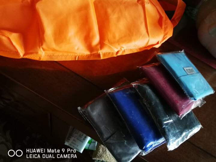 创意可折叠式宽口无纺布袋子手提袋购物袋 购物袋折叠 紫色 晒单图