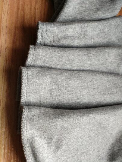 恒源祥秋裤男单件纯棉加长护膝修身薄款保暖裤 舒适柔软单裤棉毛裤 护膝款深灰 XXL(180/105) 晒单图