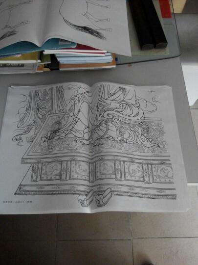古代人物画线描稿 晒单图