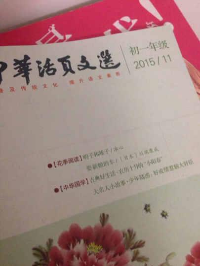 中华活页文选初一版杂志铺预订 1年共12期  2019年8月起订阅 初中语文学习辅导停用 晒单图