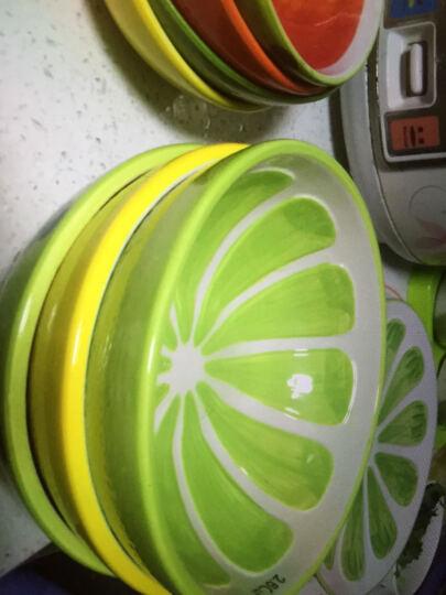 瓷物语 手绘水果餐具套装DIY自由搭配儿童餐具日式碗盘碟釉下彩套碗 橙子味碟 晒单图