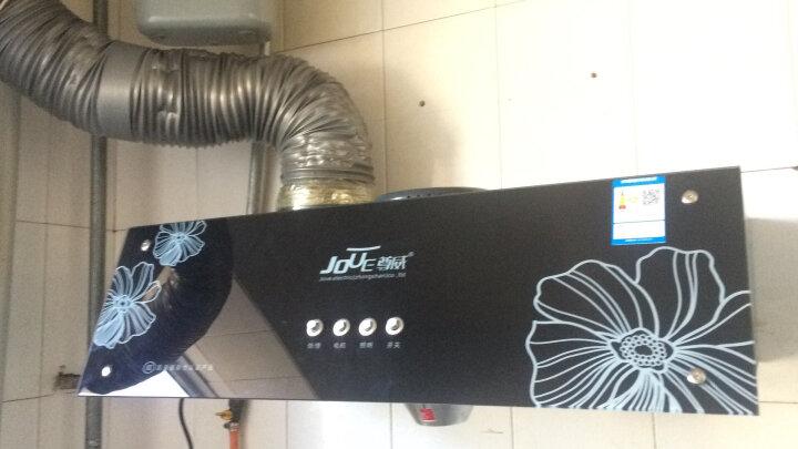 尊威(JOUE)家用超薄油烟机 中式吸抽油烟机 按键高配款+3米烟管【2根1.5米烟管】 国标标准京东上门安装 晒单图