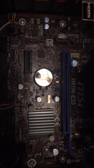 微星(MSI)H81M-E33(Intel H81/LGA 1150) 主板 晒单图